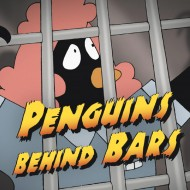 Penguins Behind Bars