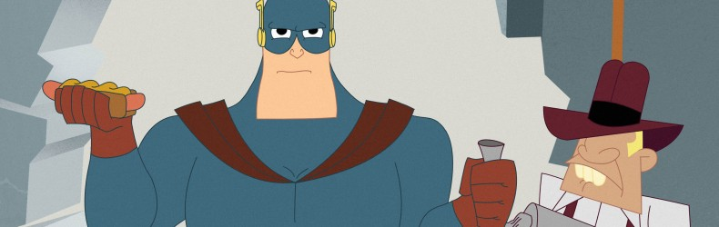 Captain Awesome: the Rumble in the Concrete Jungle