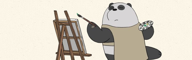 "We Bare Bears ""Panda's Art"""