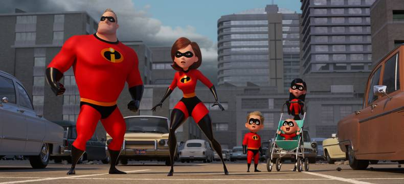 LES INDESTRUCTIBLES 2 © Pixar Animation Studios