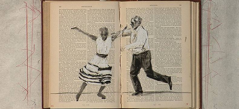 Tango for Page Turning by William Kentridge