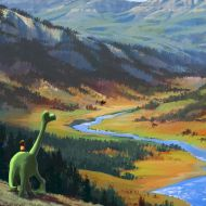 Le Voyage d'Arlo / The Good Dinosaur  - © 2014 Disney•Pixar. All Rights Reserved.