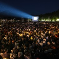 Open air screenings