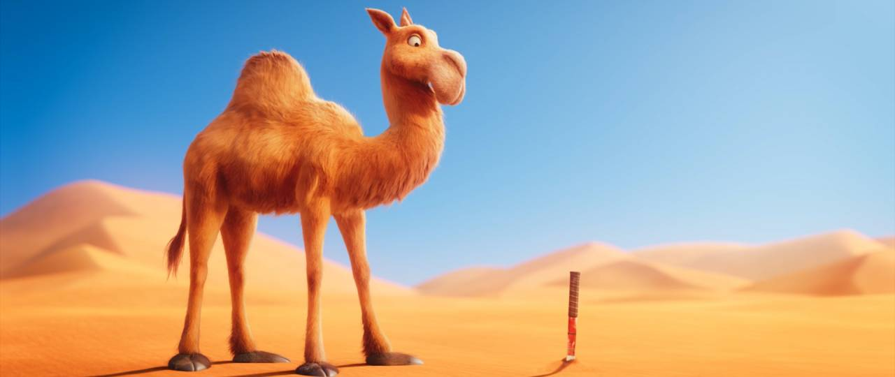 Itchy the Camel: Tennis Ball
