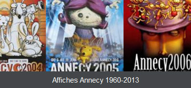Annecy posters from 1960 to 2015